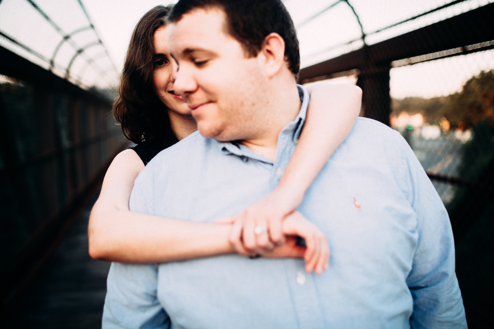 American Tobacco Trail Engagement Photos