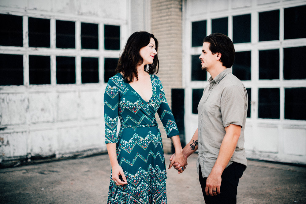Downtown Durham engagement photos