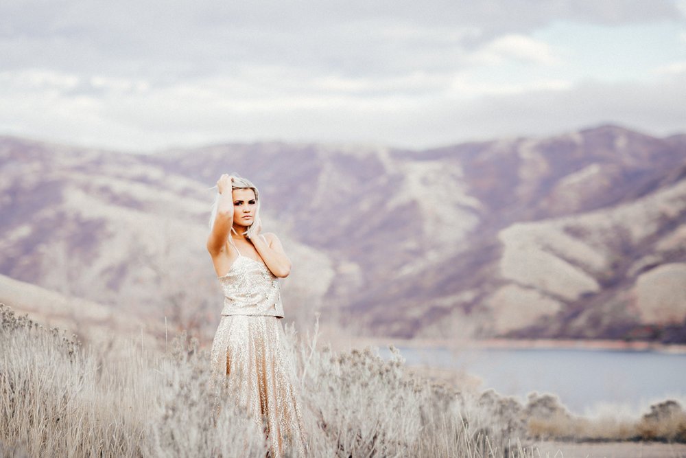 Bridal portraits in salt lake city