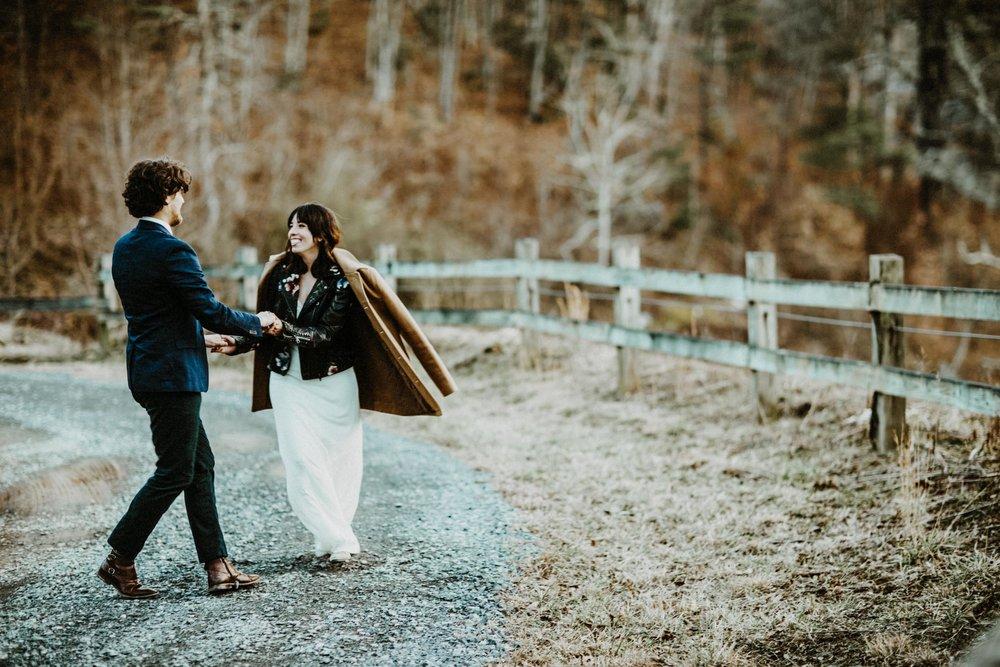 Elopement Wedding Asheville NC