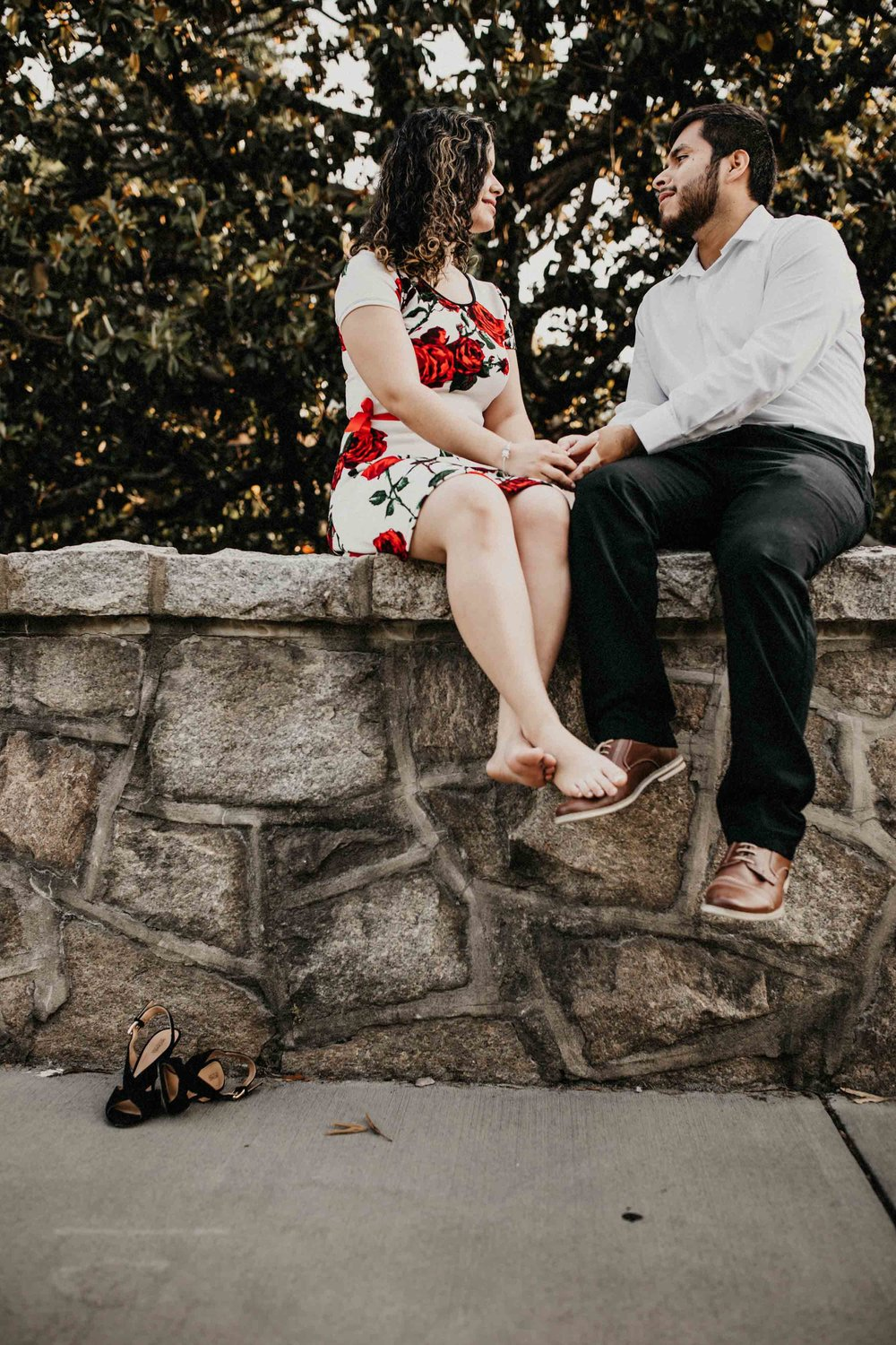 Engagement Photographers in Durham NC