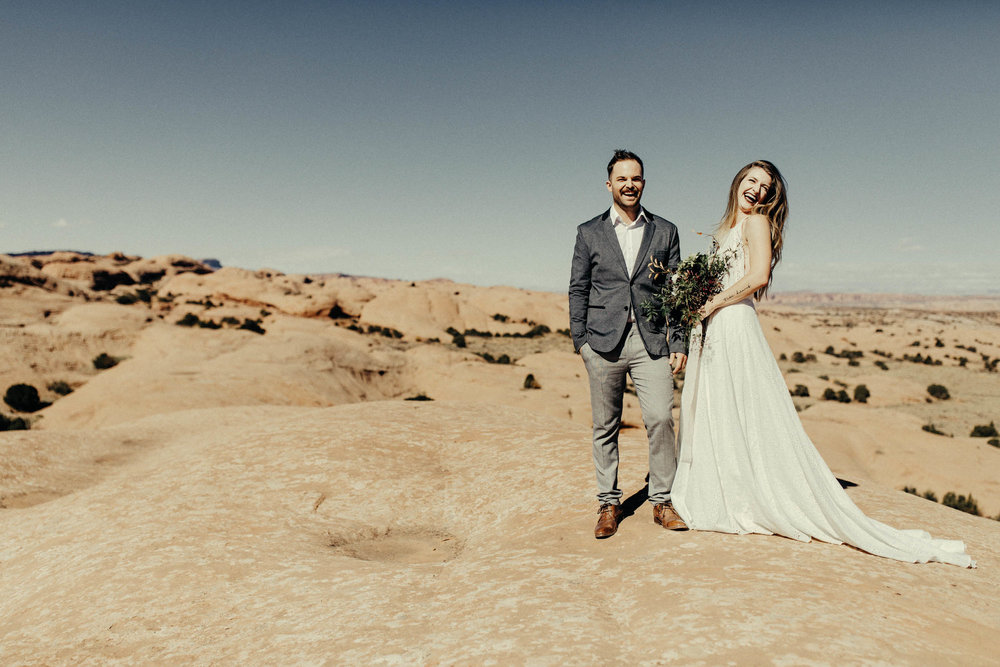 Weddings in Moab, Utah