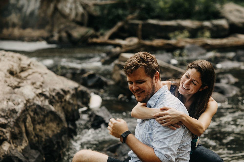 Eno River engagement