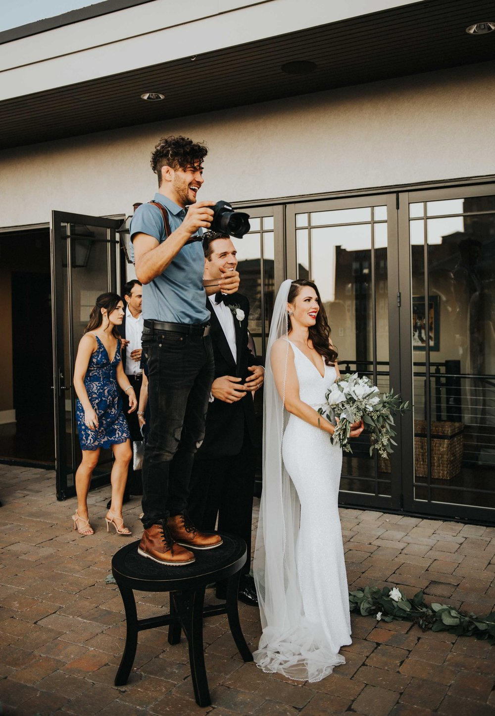I'm committed to being a Wedding Photographer. -