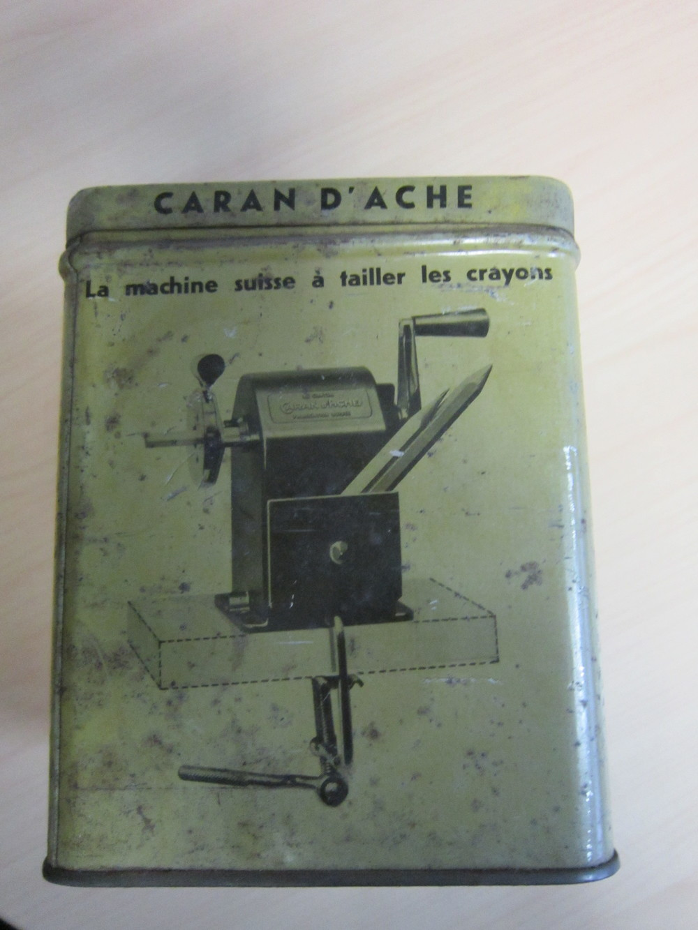 Vieille boîte originale