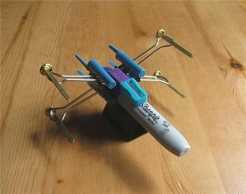 Build a Star Wars X-Wing fighter