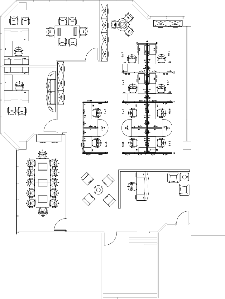 office blueprints, office floor plan layout design