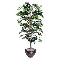 Artificial Ficus Tree  ( pot  sold separately)