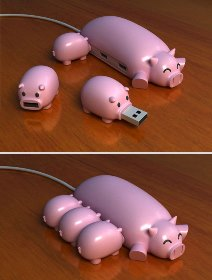 Pig Buddies USB Hub .