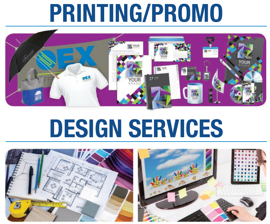 Customer Printing & Promotion Items & Graphic Design Services