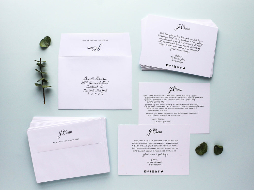 Papersoul Services - Handwritten Cards
