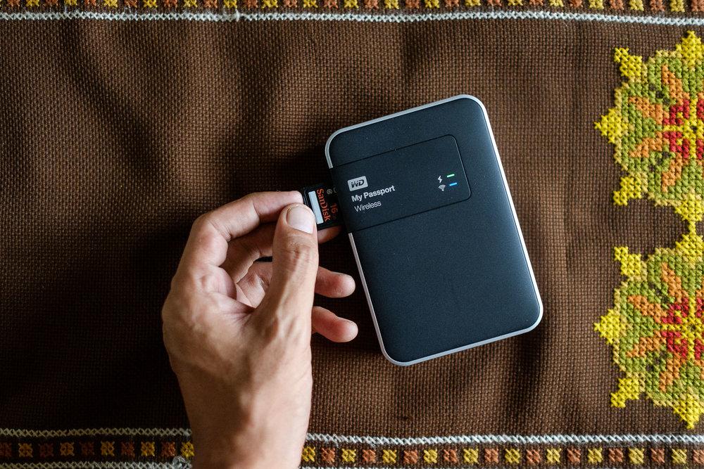 Western Diginal My Passport Wireless 2 TB