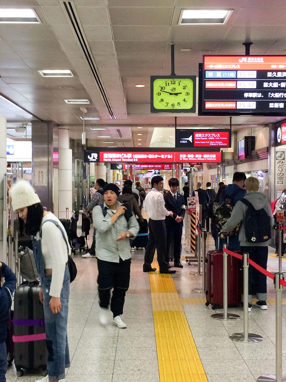 Narita Express Entrance (Narita)