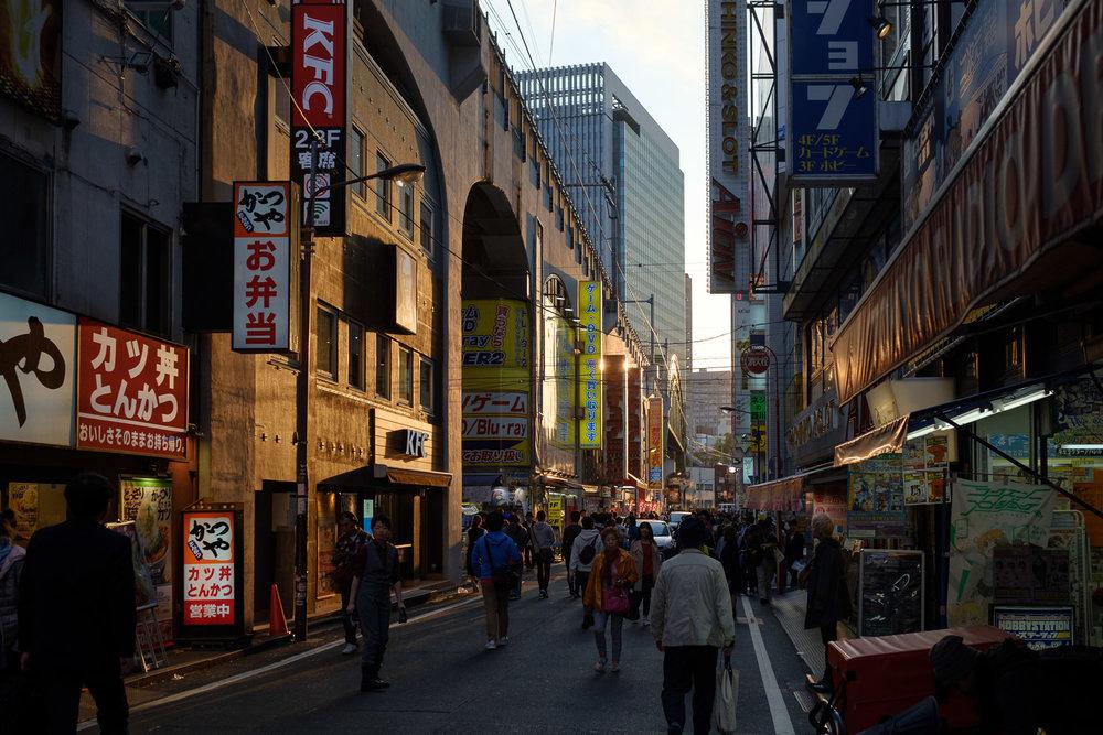 Last sunset in Japan