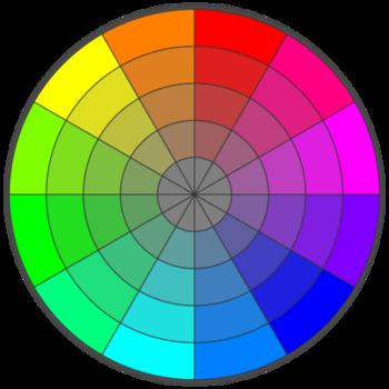RGB Color Wheel -