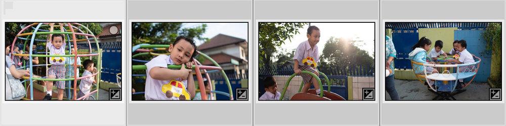 Dengan cepat exposure akan disamakan tanpa harus menyamakan exposure tiap foto satu demi satu.