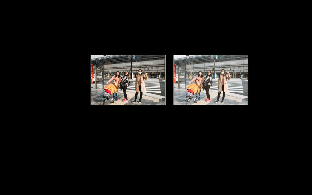 Mode Lights Out sangat berguna pada saat ingin membandingkan dua foto yang mirip dengan Compare Mode (C).