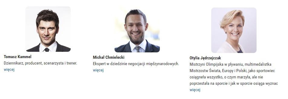 Źródło: 12krokowdosukcesu.pl/#speakers