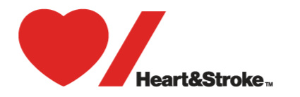 Day 5 On the fifth day of giving, my law firm gave to me, help for Heart & Stroke. (click for info)