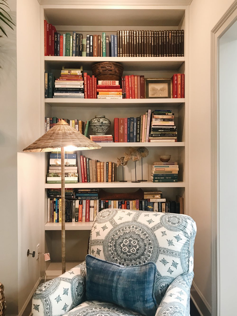 Avery Cox Design Blog: Southern Living 2018 Austin Idea House by Meredith Ellis, Built In Bookcase