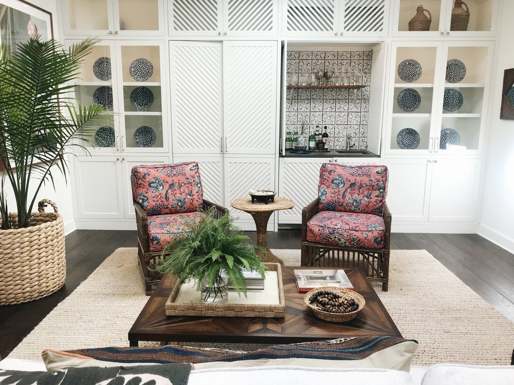 Avery Cox Design Blog: Southern Living 2018 Austin Idea House by Meredith Ellis, Sun Room