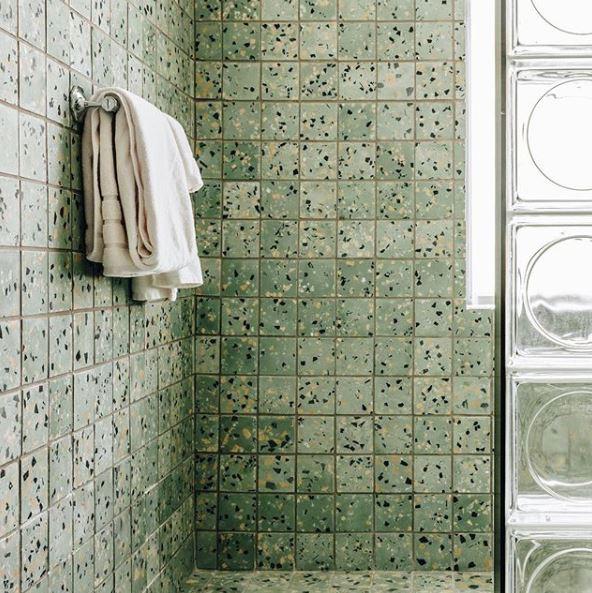 bathroom at:  The Siren Hotel