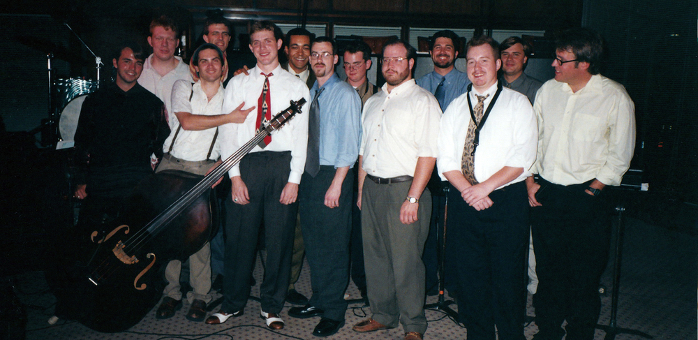 The Streamliners Swing Orchestra at Fairbanks Roasting Room, Knoxville, TN, 2000