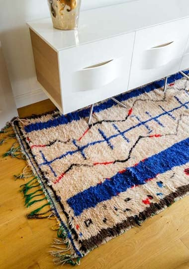 A vintage Azilal Berber rug from our collection