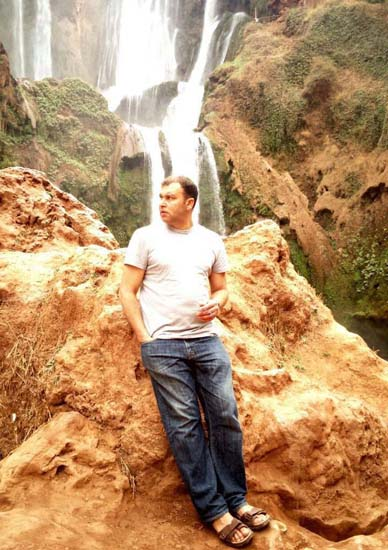 On a sourcing trip, in Morocco's mountains