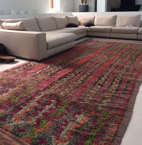 A rare Maroc Tribal Ait Bou Ichaouen carpet