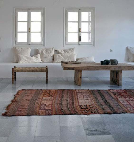 Muted simplicty at hotel San Giorgio. Photo Stil Inspiration