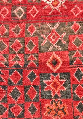 Symbols in Moroccan Rugs - from Maroc Tribal