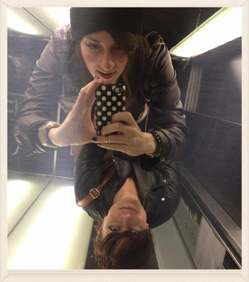 Elevator selfies ftw!