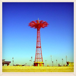 Needle at Coney Island.