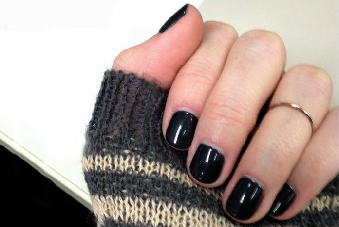 My very first gel manicure pre-Paris.