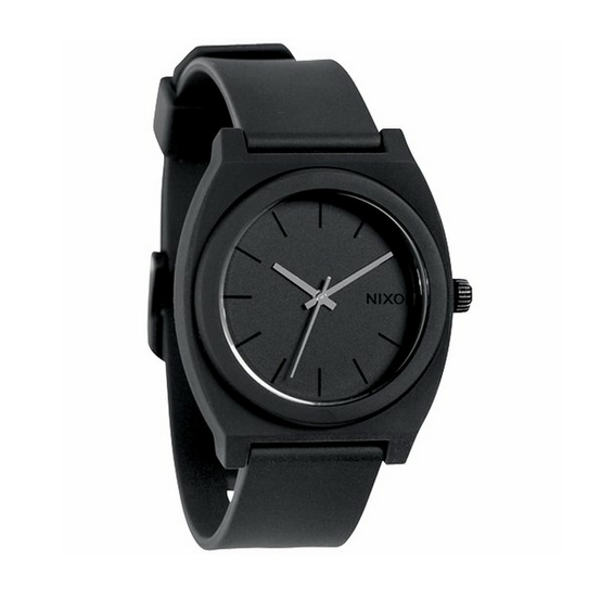 Nixon Time Teller Black Watch