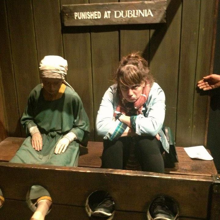 Punished at Dublinia.