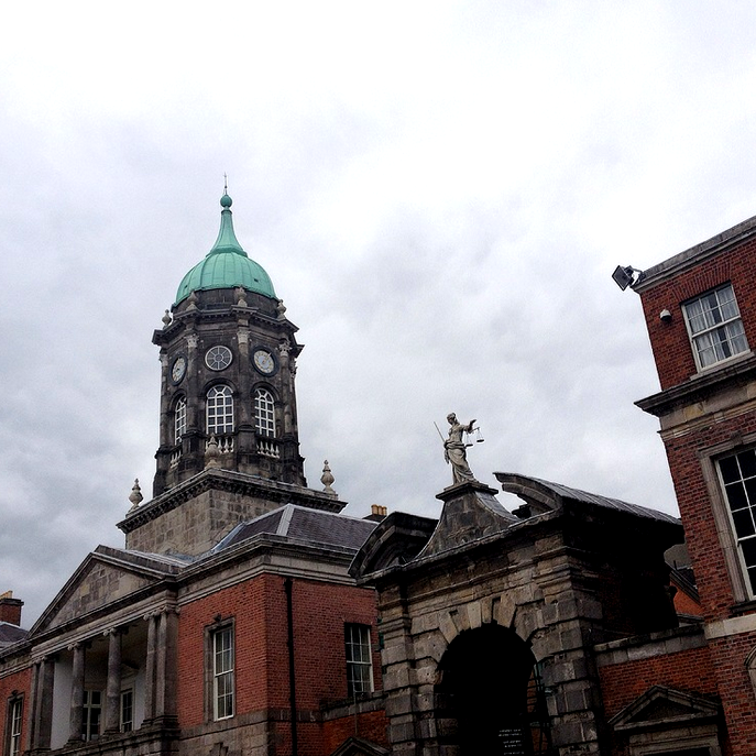 Dublin Castle, not that great.