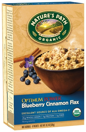 Natures Path Oatmeal with Flax Seed