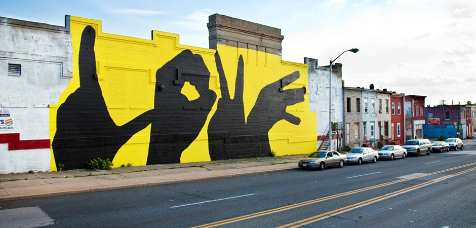 Courtesy of the  Baltimore Love Project .