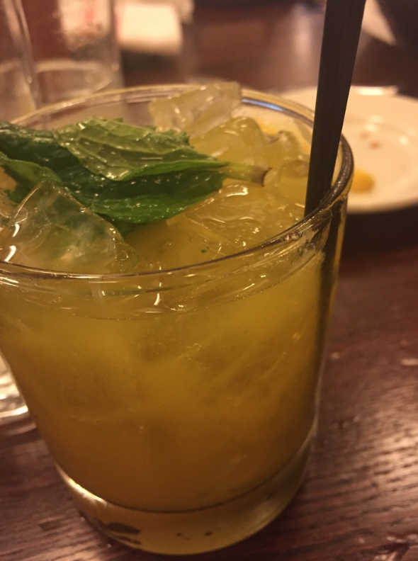 Mimosa + mojito = Passion Punch. Yes and please.