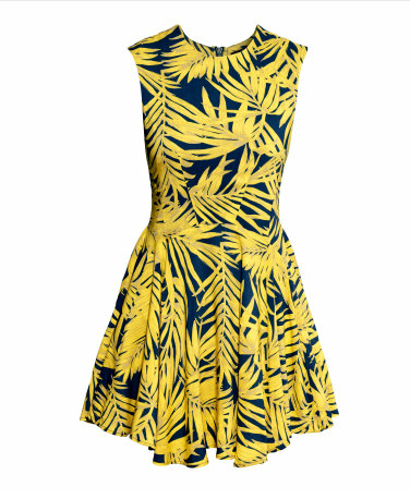 H&M circle dress