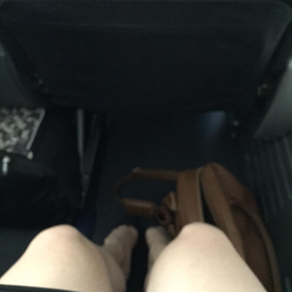 Leg room FOR DAYS