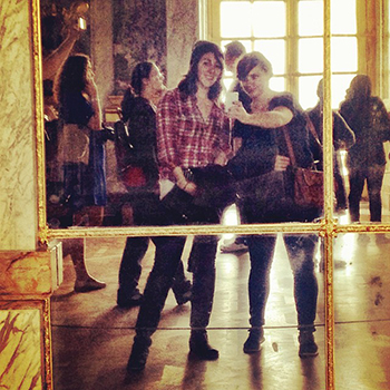 Very important Versailles photo.