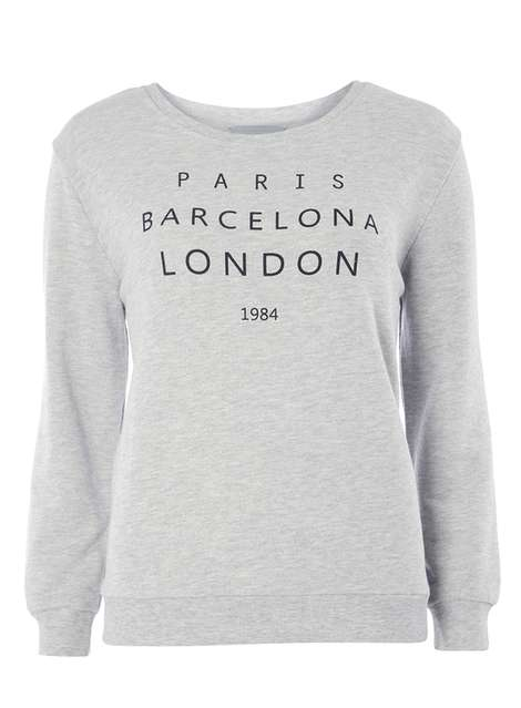 Dorothy Perkins Petite Paris Marl Sweat