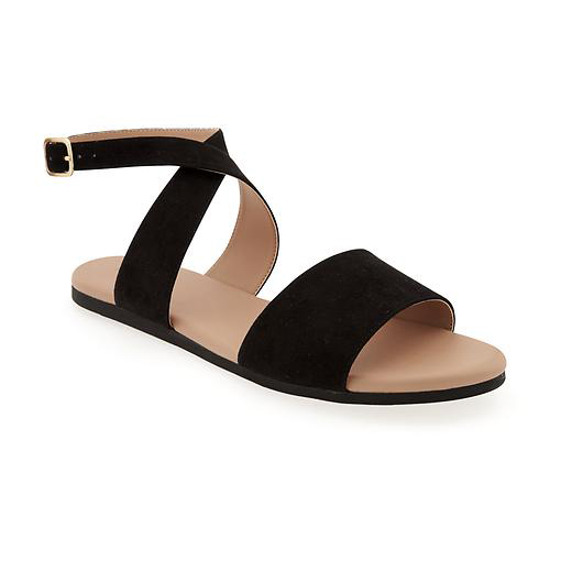 Sueded Sandal