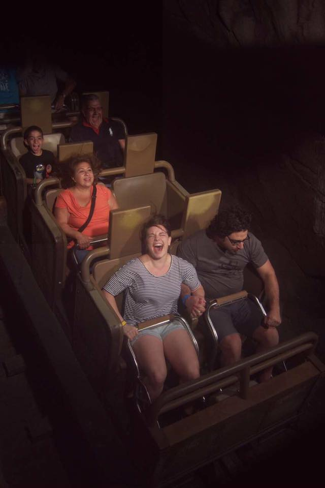 I continue to hate rollercoasters.