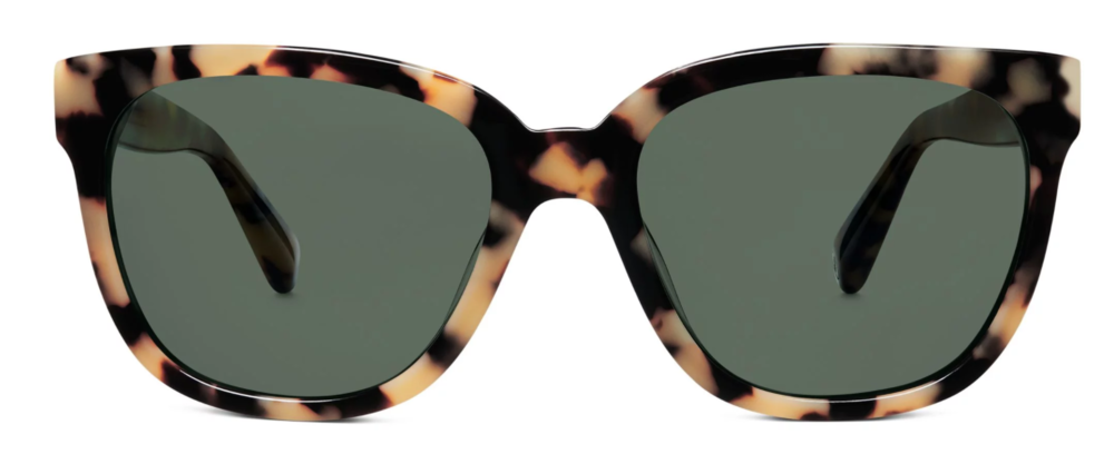Reilly Women's Sunglasses in Marzipan Tortoise