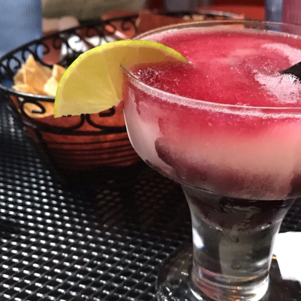 The sangria margarita -- the best of both worlds.