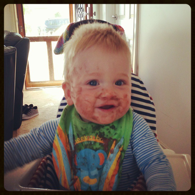 Cheeky chocolate chops